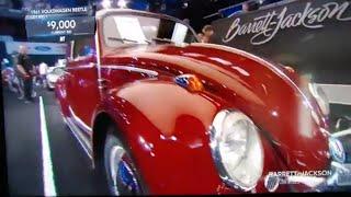 CLASSIC VW 1961 BEETLE. SOLD AT BARRETT-JACKSON AT MOHEGAN CASINO 2019