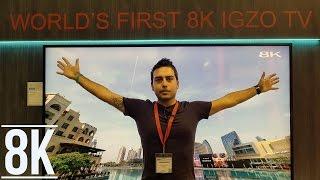 TV Sharp IGZO 8K: anteprima IFA 2016