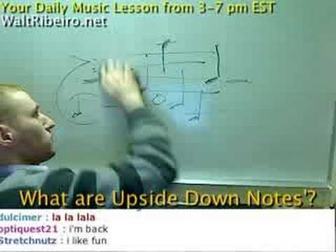 Upside Down Notes Piano 'upside Down Notes' Explained