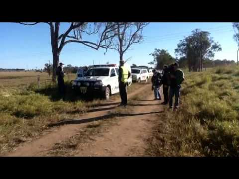 The Metgasco Fiasco - Coal Seam Gas Toxic Dam Blockade and Lockon