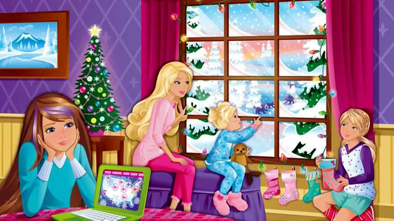 barbie zauberhafte weihnachten diesen wunsch nur habe ich. Black Bedroom Furniture Sets. Home Design Ideas
