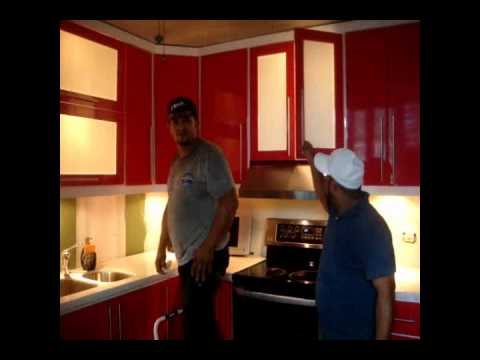 Cocinas pvc puerto rico youtube for Torres en la cocina youtube