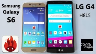Samsung Galaxy S6 vs LG G4 Antutu Benchmark test