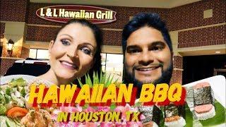 HAWAIIAN BBQ in Houston! (L & L Hawaiian Grill)