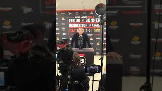 Bellator President Scott Coker at Bellator 208 Post-Fight Presser