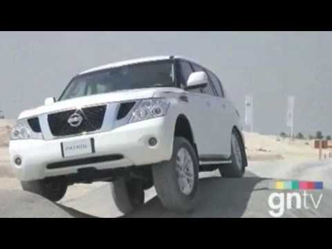 Nissan Patrol 2010 tackles a rough and tough obstacle course in Jebel Ali