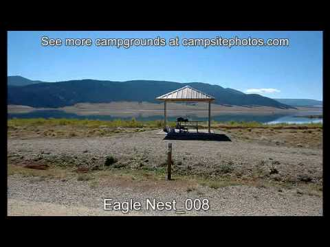 Eagle Nest Lake State Park, NM Campsite Photos