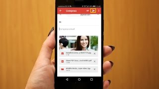 How to Attach & Send Picture, Video, Files in Gmail in Android