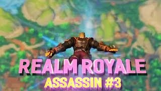 CAN'T TOUCH ME BABY! Realm Royal Assassin Game play! - Incon