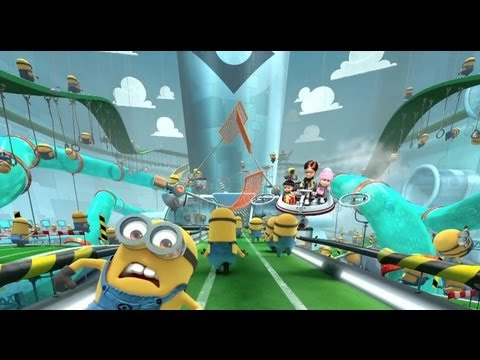 On-ride Preview Of Despicable Me Minion Mayhem At Universal Studios Florida video