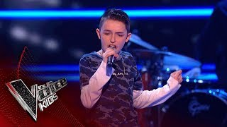 Download Lagu Ciaran Performs 'Sax': Blinds 2 | The Voice Kids UK 2018 Gratis STAFABAND