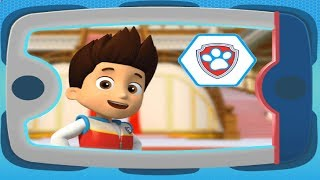 Paw Patrol Pawsome Mission Paw - Rubble, Ryder, Chase Team Rescue Nickelodeon Jr Kids Game Video HD!