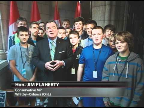 Jim Flaherty's Canada Day Greeting