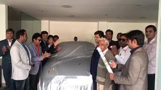 RUBY LEADER JUGAL KISHOR OJHA NEW AUDI A3 CAR ACHIEVED!! SAFESHOP!!*