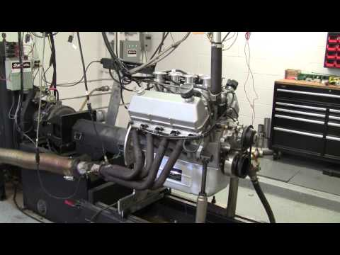 412 CID Cleveland Ford Engine on Dyno - 570 HP!