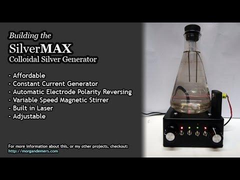 SilverMAX Colloidal Silver Generator