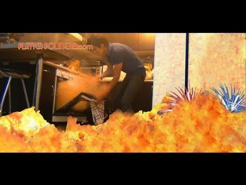 Nunca prendas cohetes en el horno | fuegos artificiales, broma fireworks prank, explosion accidente