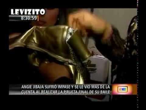 Angie Jibaja se le vio mas de la cuenta [21/08/10] America Espectaculos