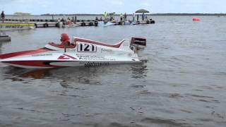 The Velden/Johnson Stinger GP is ready to go. Nothing sounds like a OMC KR 15M V4
