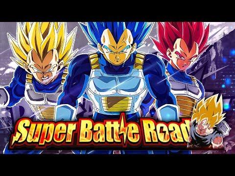 THE NEW PURE SAIYANS STAGE OF SUPER BATTLE ROAD BEATEN! (DBZ: Dokkan Battle)