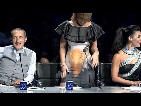 Kamera e fshehte JURIA (nata finale) X Factor Albania 3