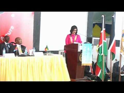 Official Opening of 88 DCA by H.E Hon Uhuru Kenyatta at Leisure Lodge, Diani, Mombasa pt 1
