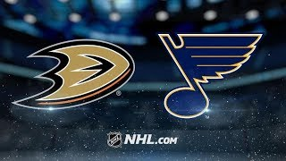 Anaheim Ducks vs St. Louis Blues – Oct.14, 2018 | Game Highlights | NHL 18/19 | Обзор матча