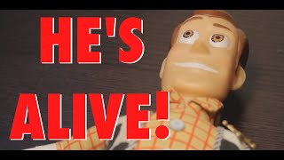 SCARY WOODY DOLL COMES TO LIFE!