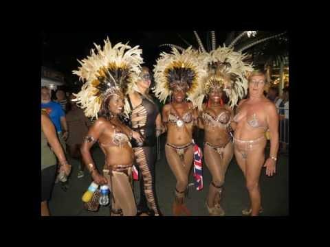 Almost naked Fantasy fest 2013 key west