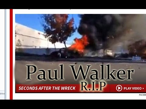 Muere PAUL WALKER. actor de Rapido y Furioso en ACCIDENTE Automobilistico