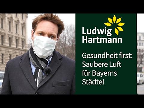 Gesundheit first: Saubere Luft für Bayerns Städte!