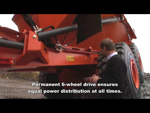 Rosendal Maskin presents Doosan Moxy Articulated Dump trucks.mp4