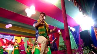 Jong blit blit gonthong by kapil swargiary sir at bathabari with beautiful dancer nice dance group