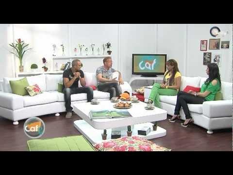 image Ami Radhwan Et Karim Kouki Avec Rania Gabsi dans Café'IN - Tunisna Tv