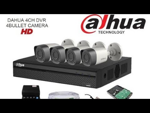 Dahua 4channel cctv DVR with  Feature