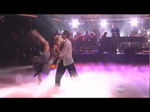 Josh Groban singing Brave with Dmitry Chaplin & Chelsie Hightower dancing on DWTS 3-26-13