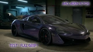NFS | TEST MCLAREN 570S | FULL GRIP