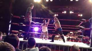 Extreme Midget Wrestling Federation (Turner Hall, Milwaukee, 03/02/12) Tiny Timmy vs. Lil Rampage