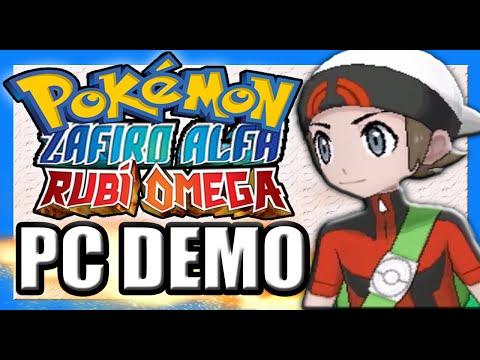 Pokémon Rubí Magma / Zafiro Aqua: PC DEMO [Guia Completa] 2014.