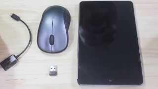 Cách sử dụng chuột không dây trên Android với cáp OTG