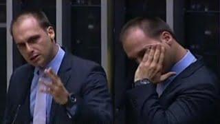 URGENTE: EMOCIONADO COM ATENTADO, EDUARDO EXPLICA GRAVIDADE DE RISCO DO BOLSONARO