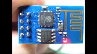 esp8266 serial WiFi module firmware downgrade