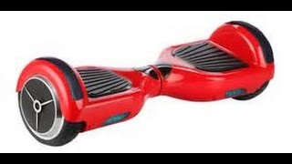 HOVERBOARD SEGWAY MONTAGE