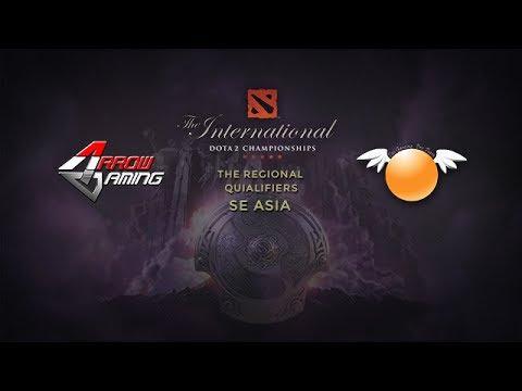 Arrow Gaming -vs- Orange Esports, TI4 SEA Qualifier, Round 6