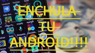 ENCHULA TU ANDROID CON ....3 ICON PACK HERMOSOS!!!//GRATIS