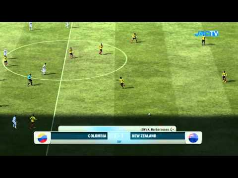 FIFA 12 - RTWC Japan 2012 - Colombia vs. New Zealand