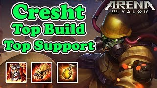 Cresht Top Build Top Support - Arena Of Valor