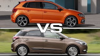 2018 Volkswagen Polo vs 2016 Hyundai i20