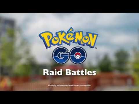 Pokémon GO - Raid Battles