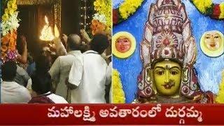 కన్నులపండుగగా దేవి శరన్నవరాత్రి ఉత్సవాలు! | Day 7 Dussehra Celebrations at Indrakeeladri